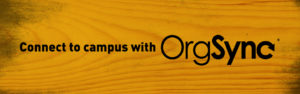 Connect to campus with OrgSync